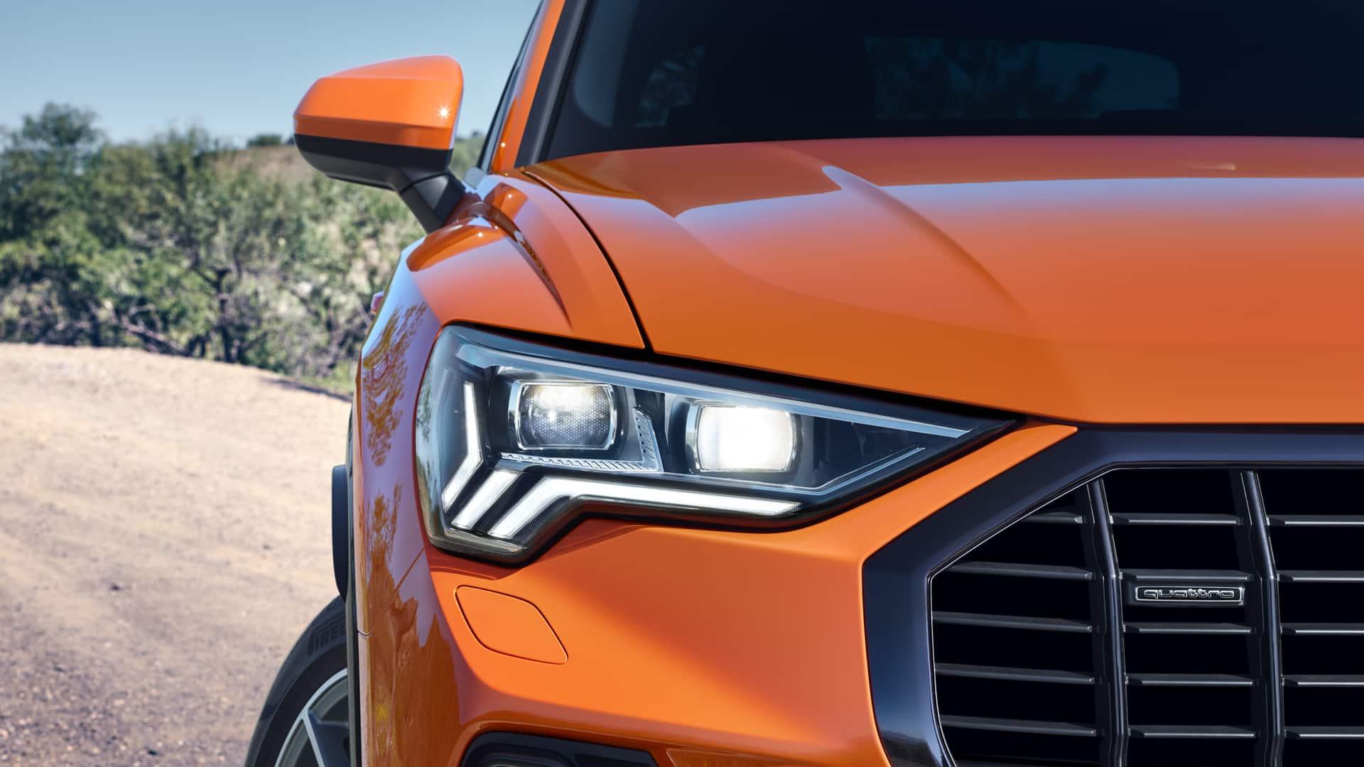Η τεχνολογία φωτισμού του νέου Audi Q3
